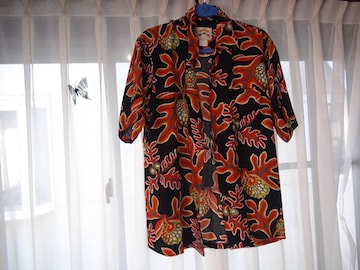 PINEAPPLE JUICEのアロハシャツ(L)!