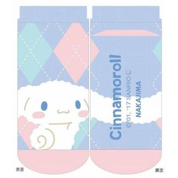 【シナモロール】可愛い靴下.ソックス 23〜24cm