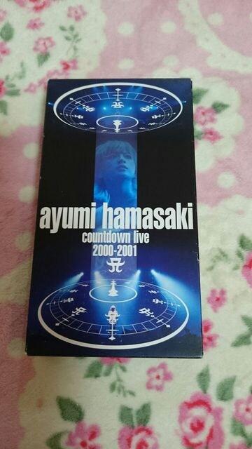 浜崎あゆみ☆ビデオ☆劇レアです2000〜2001カウントダウン☆  < タレントグッズの