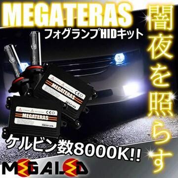 超LED】エルグランドE52系後期/LEDヘッド車/フォグランプHIDキット/H11/8000K