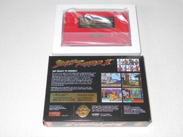 SFC★STREET FIGHTER 2 30th ANNIVERSARY EDITION SNES 海外版 < ゲーム本体/ソフトの