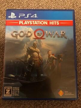 GOD OF WAR 美品 PS4 ゴッドオブウォー