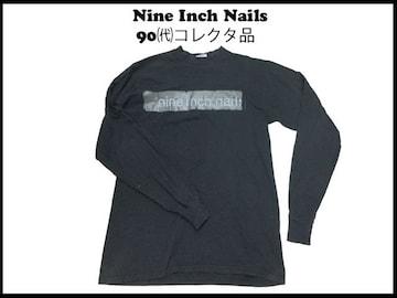 NINE INCH NAILS 長袖コレクタロングT90代 L