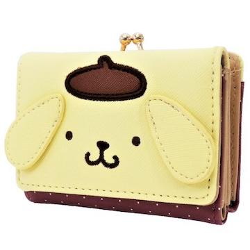 ポムポムプリン★ミニ口金財布(がまぐち)サンリオ/ウォレット