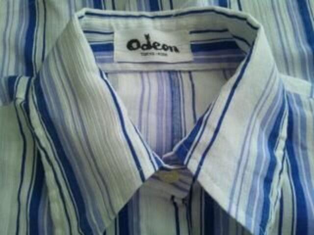 レトロ昭和古着柄シャツ70年代ヒッピーモダン < 男性ファッションの