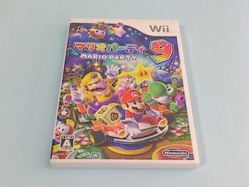 Wiiゲームソフト マリオパーティ9 状態悪い