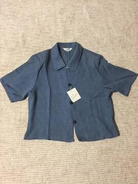 454.新品☆半袖ジャケット  夏用羽織☆サイズ11号