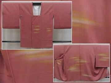 留袖や訪問着に 正装用 正絹 絵羽コート Used