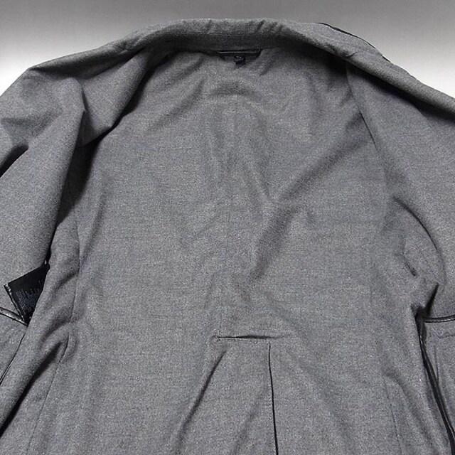 【ジョルジオ・アルマーニ】羊革レザージャケット メン < ブランドの