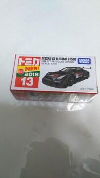 NO.13   NISSAN   GTーR   NISMO  GT500  初回シール