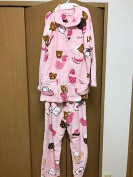 美品☆リラックマ☆ピンクパジャマ☆M