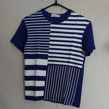 THESHOPTK☆ボーダーTシャツ☆size150☆青