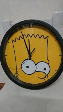 SIMPSONSシンプソンズ バート 時計 ウォール クロック 掛け時計