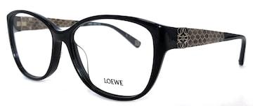 未使用正規ロエベメガネフレームアナグラム眼鏡ブラック