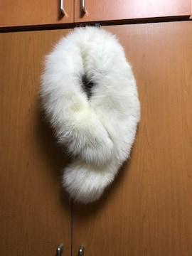 フォックス ファー毛皮襟巻き ショールマフラー成人式セレモニー