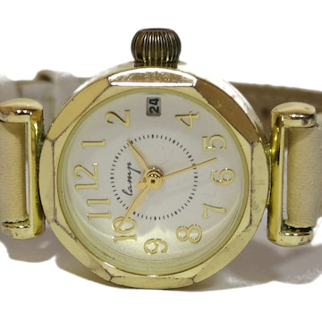【980円〜】lanys【オクタゴンベゼル】アンティーク調 腕時計