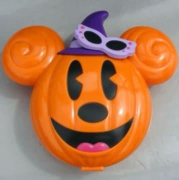 ディズニー ハロウィン スーベニアケース かぼちゃミッキー