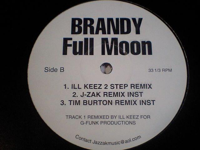 即決 BRANDYブランディ大ヒット曲「FULL MOON」激レアREMIX! < CD/DVD/ビデオの