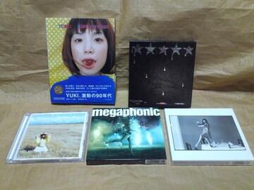 YUKI 初回限定盤CD と関連本