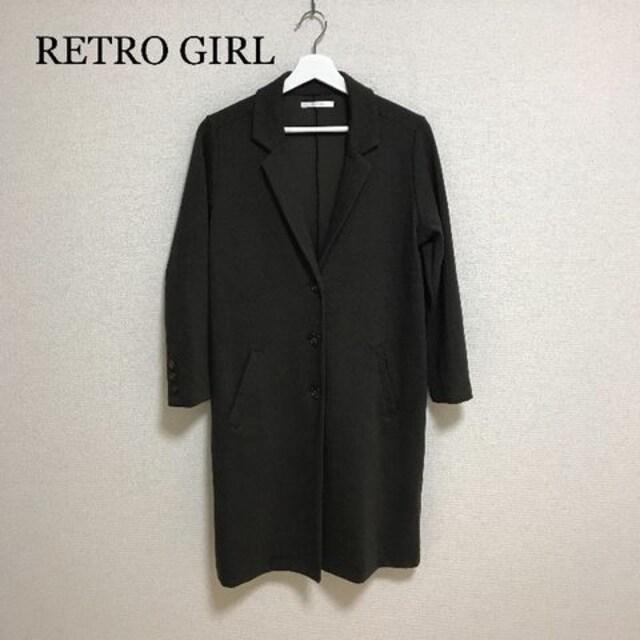 RETRO GIRL カーキチェスターコート  < ブランドの