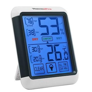 デジタル湿度計 温度計室内 LCD大画面温湿度計