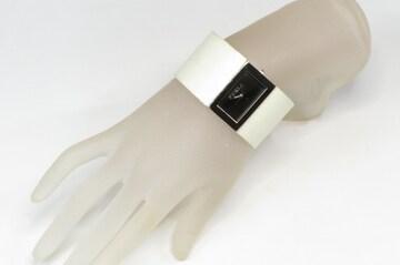 FURLA フルラ バングル 腕時計 幅広 レザー