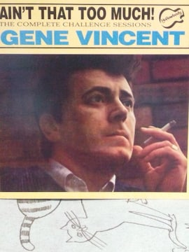 CD ロカビリー/GENE VINCENT ジーン・ヴィンセント/AIN'T THAT TOO MUCH!