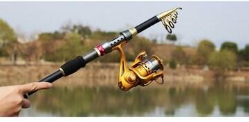 新品 超硬・軽量 カーボンロッド 2.7m  釣竿  海釣り