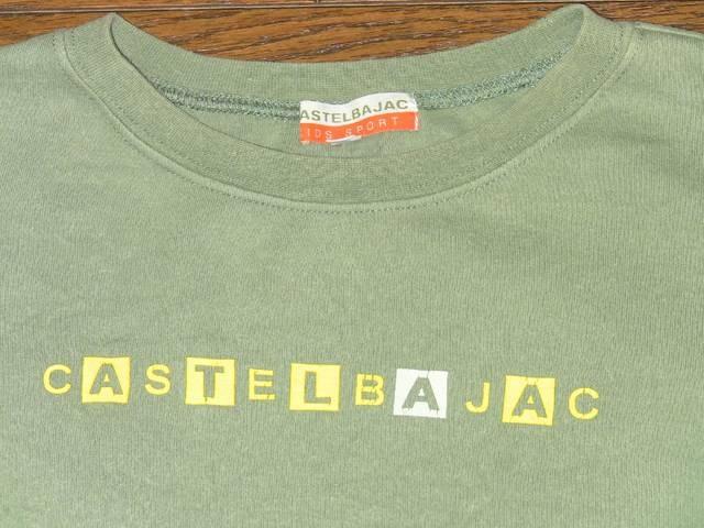 良好!140�p カステルバジャック Castelbajac 半袖Tシャツ �A < キッズ/ベビーの