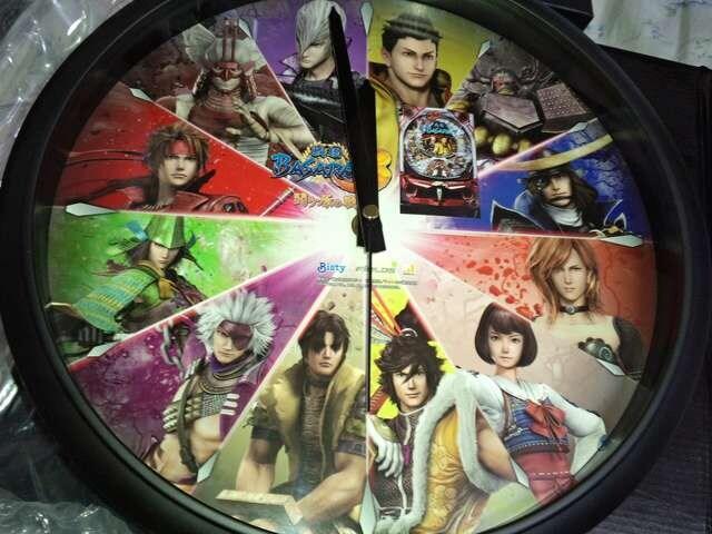 【パチンコ 戦国BASARA3】非売品 掛け時計 未使用品  < アニメ/コミック/キャラクターの
