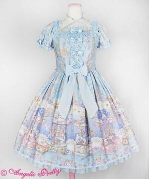 Eternal Carnivalワンピースセット・ヘッドドレス付 サックス