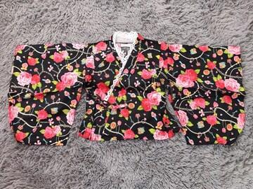 美品★浴衣ドレス4点セット100
