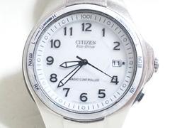 3456/シチズン☆エコドライブ&ラジオコントロール機能搭載高額なメンズ腕時計!