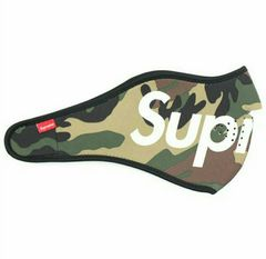 未使用☆Supreme 14Fw Neoprene Face Mask Camo
