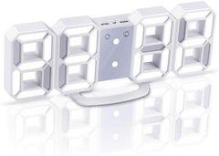 LEDデジタル時計 3Dデザイン アラーム機能付き  明るさ調整