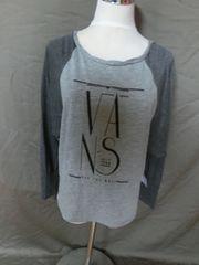 アメカジ【VANS】バンズ ドルマンスリーブ系 ロングTシャツ US M