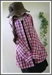 新品*春♪羽織ってもINにも◎綿100%シャツ*大きいサイズ*3L