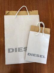 DIESEL ショップ袋 大 小 2枚まとめ売り