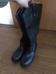 新品タグ付き オールドネイビー ブーツ ぺたんこ 黒 23�p