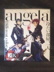 CDマキシ『K-MISSING KINGS-』OP「Different colors」angela