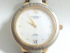 9131/LauraBacoccoli★天然シェル素材ダイヤルメンズ腕時計格安出品