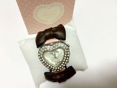ピンク キャンディ★新品★ハートリボンピンク★腕時計★