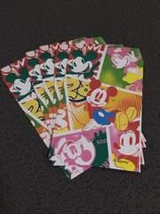 ミッキー&ミニー お年玉袋 5枚入り ポチ袋 R1c ディズニー