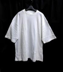 セール新品送込サーマルtシャツ★着回し抜群ビッグシルエットxlホワイト