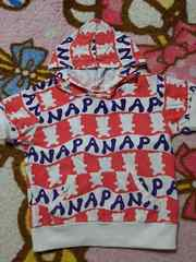 ANAPkids☆総ロゴパーカーTシャツ☆110
