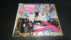 【新品】FRiDAY-MA-MAGiC(初回生産限定盤)/miwa CD+DVD