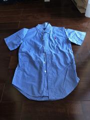 ラルフローレン 140チェックシャツ 美品