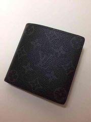 LouisVuitton モノグラム エクリプス二つ折り短財布