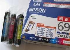 エプソン プリンター インク カートリッジ IC4CL69 3色