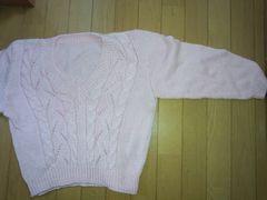 ピンクのセーター【Mサイズ】